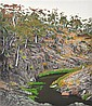 DAVID ROSE (1936-2006) At Iron Pot Creek near Jindabyne 1993 screenprint 36/80