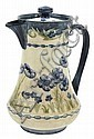 A MOORCROFT MACINTYRE BLUE POPPY PATTERN COFFEE POTCIRCA 1903