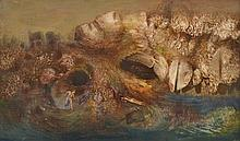 JAMES GLEESON (1915-2008) Odysseus oil on board