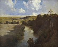 PENLEIGH BOYD (1890-1923) Shadowed River 1920 oil on canvas