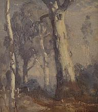 HANS HEYSEN (1877-1968) Gums 1918 watercolour
