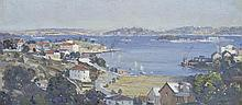JAMES R. JACKSON (1882-1975) Sydney Harbour oil on canvas board
