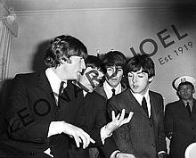 THE BEATLES DURING CONFERENCE/RECEPTION