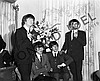THE BEATLES DURING PRESS CONFERENCE III
