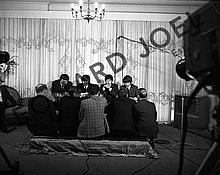 THE BEATLES DURING PRESS CONFERENCE V