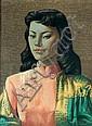 Vladimir Tretchikoff (Russian, 1913-2006) Miss Wong print