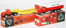 TWO TEKNO MODELS INCLUDING TEKNO 861 SCANIA-VABIS; 451 SCANIA-VABIS (E-M BOXES G-VG) (2)