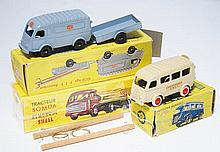 CIJ 3/60T 1000KGS P.T.T. REMORQUE; 3/62 AUTO CAR; AND RE-ISSUE TRACTEUR SOMUA (E-M BOXES P-M) (3)
