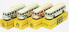 4 X CIJ 3/40 CAR RENAULT BUS (G-M BOXES G-VG) (4)