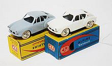 TWO CIJ 3/50 ALPINE RENAULT TYPE MILLE MILES MODELS (E-M BOXES VG-E) (2)