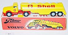 TEKNO 434 SHELL TANKER, YELLOW BONNET (E-M BOX G)