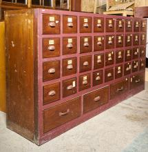A 20TH-CENTURY JAPANESE DRAW CUPBOARD