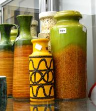 A COLLECTION OF WEST GERMAN POTTERY