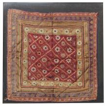 A PAIR OF NORTH INDIAN EMBROIDERED KUTCH COVERS, EARLY 20TH CENTURY