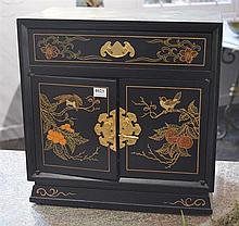 LACQUER DRESSING TABLE BOX