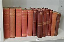 SHELF OF VINTAGE EDITIONS, INCL. X5 VOLUME WOMEN'S HOME LIBRARY, 3 VOLUMES OF GARIBALDI REFERENCE, ETC