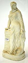PARIAN WARE FIGURE OF A LADY