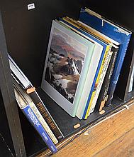 SHELF OF ASSORTED BOOKS