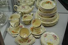 ROYAL DOULTON ORCHID PATTERN DINNER SERVICE
