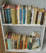TWO SHELVES OF VINTAGE BOOKS INCL. TOLKEIN