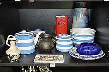 COLLECTION OF 1960'S AND LATER CERAMICS