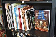 SHELF OF ART REFERENCE, INCL. THE LAND BEYOND TIME, KENNETH JACK, ETC.