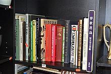 TWO SHELVES OF KOREAN RELATED BOOKS