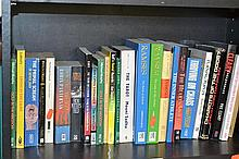 TWO SHELVES OF MISCELLANEOUS BOOKS