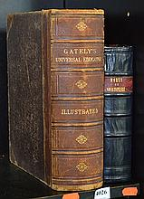 A 1896 EDITION OF GATELYS UNIVERSAL EDUCATOR AND A LEATHERBOUND VOLUME OF SHAKESPEARE'S WORKS