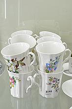 12 ROYAL GRAFTON TEA CUPS (ONE WITH CHIP)