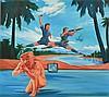 GUO JIAN (CHINESE, BORN 1962) Untitled 1999 acrylic on canvas