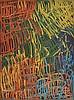 MINNIE PWERLE (1922-2006) Untitled (Awelye - Atnwengerrp) acrylic on canvas