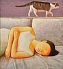 XUE MO (MONGOLIAN, BORN 1966) Dream 2002 oil on canvas