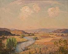 JAMES R. JACKSON (1882-1975) Goulbourn Valley oil on board
