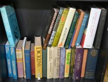 SHELF OF LITERARY BIOGRAPHIES