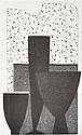 KEVIN LINCOLN (BORN 1941) Two works: i) Vase and Fruit50.5 x 30cmii) Palette 2 51.5 x 31cm lithographs (2)