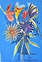 CHARLES BLACKMAN (BORN 1928) The Melbourne Cup Bouquet 1989 screenprint 42/90