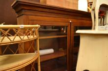 A LATE 19TH CENTURY DISPLAY CABINET TOP
