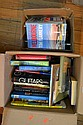 TWO BOXES OF ASSORTED BOOKS INCLUDING HISTORY REFERENCE, CHILDRENS BOOKS ETC