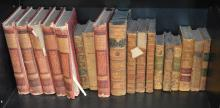A COLLECTION OF 19TH CENTURY BOOKS OF LITERATURE INCLUDING 'THE CASQUET OF LITERATURE' BY CHARLES GIBBON AND JANE AUSTEN'S 'MANSFIE