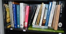 A SHELF OF BOOKS ON LOCAL HISTORY INCLUDING FOOTSCRAY AND BULN BULN