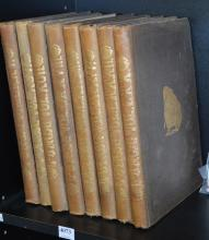 EIGHT VOLUMES OF PUNCH