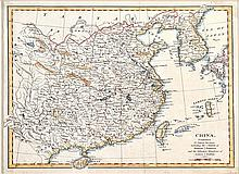19TH CENTURY MAP OF CHINA