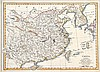 19TH CENTURY MAP OF CHINA