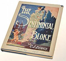 THE SENTIMENTAL BLOKE WITH ORIGINAL ILLUSTRATIONS