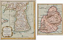 19TH CENTURY MAP OF MAURITIUS AND 18TH CENTURY MAP OF KOREA