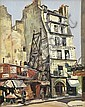 WILL ASHTON (1881-1963) Hotel du Midi oil on canvas on board