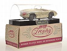 ST MICHAELS TROPHY MODELS, GOLD AUSTIN HEALEY ON