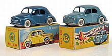2 X CIJ 3/48 4CV RENAULT, INCLUDING ONE METALLIC