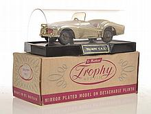 ST MICHAELS TROPHY MODELS, GOLD TRIUMPH T.R.2. ON